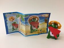 Kinder Surprise Tartallegre Harp Turtle Toy Limited Edition China 2014 Mega Rare