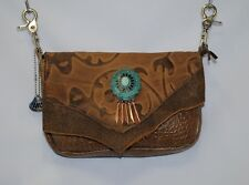 Hip Bag Co.Western Leather Concealed Carry Purse Rt. Hand Draw Strap Included