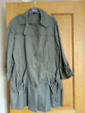 Marks and Spencer limited collection trench coat. grey. new no tags. Size 14