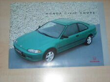 44813) Honda Civic Coupe Prospekt 08/1993