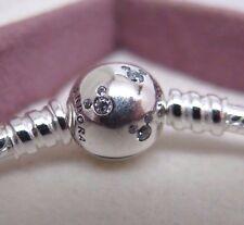 New w/BOX Pandora MICKEY 7.9 inch w/CZ's Disney Bracelet #590731CZ 20 CM