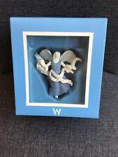 Wedgwood Jasperware Christmas Figural Star Angel 2009 Ornament w/ Box