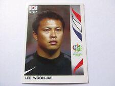 Sticker PANINI Fifa World Cup GERMANY 2006 N°494 South Korea Lee Woon-Jae