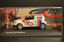 VW Fox Rainbow Art project Schuco diecast vehicle in scale 1/43