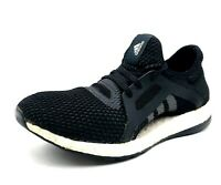 Adidas Pure Boost X Women Size 7.5 Black Sneakers Athletic Running Shoes