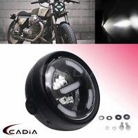 Retro Motorcycle LED Headlight Projector For Harley Ducati Honda Yamaha Chopper