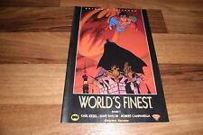 BATMAN & SUPERMAN -- WORLD`s FINEST  # 1 //  Carlsen, 1. Auflage 2000