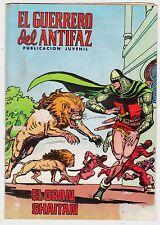 EL GUERRERO DEL ANTIFAZ (Reedición color) nº:  91.  Valenciana, 1972-1978.