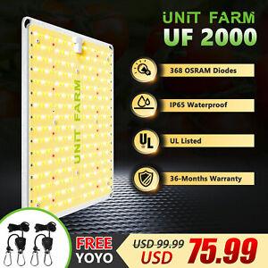 Unit Farm UF 2000W LED Grow Light Full Spectrum for Plants Veg Flower Hydroponic