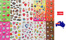 Scratch and Sniff Stickers Party Favours Teacher Rewards Scratch n sniff 25scent