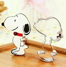 New Snoopy stainless steel cookie cutter