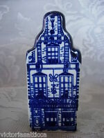 Genuine DELFTS BLUE Hand Painted House Salt or Pepper Shaker - Made in Holland