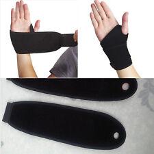 Sticky Spontaneous Heat Thumb Loop Splint Wrist Brace Support Strap Band Sport