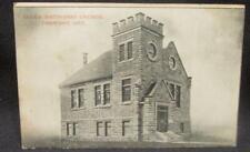Derwent Ontario Salem Methodist Church Early 1900s B&W Postcard