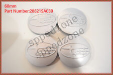 4PCS Silver Wheel Hub Center Caps Fit For 2006-15 Subaru Forester #28821SA030