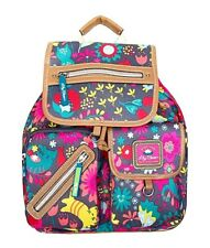 Lily Bloom eco-friendly recycled plastic rucksack backpack playful garden cat