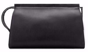 Troubadour Wash Bag Travel Black Leather