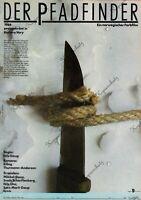 """DDR Progress Filmplakat A3 Der Pfadfinder 1989 """"ungeknickt"""""""