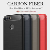 Shockproof Silicone Slim Hybrid Case Soft TPU Cover Skin For Huawei P Smart