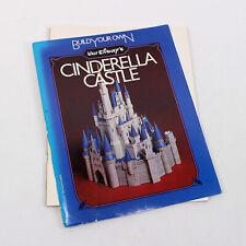 More details for walt disney build your own cinderella castle 1982 paperback perigee book