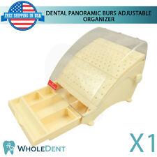 Panoramic Burs Adjustable Plastic Organizer Dental Tool Drawer Non Autoclavable