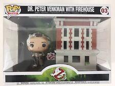 Funko Pop Ghostbusters Peter Venkman Firehouse Vinyl Figure Movie Moments #03
