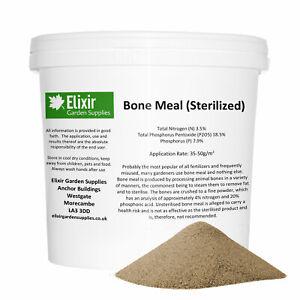 Bone Meal Organic All Purpose Garden Plant Fertiliser in Tubs