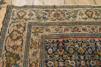 1900 circa Antique HANDMADE Genuine Persian rug shabby chic 340 x 300 cm