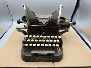 Antique The Oliver Co. Typewriter No. 3 - Standard Visible Writer - Parts/Repair
