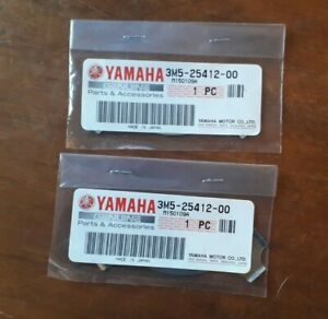 GENUINE YAMAHA PW80  RXS100 YBR125 REAR SPROCKET LOCK WASHERS x2 3M5-25412-00
