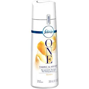 Febreze One Fabric and Air Mist Refill, Mandarin Scent, 10.1 Ounces