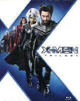 X-MEN Trilogy 3 Blu Ray Cofanetto Nuovo Trilogia X men 1 2 3 Conflitto Finale