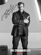 Mel Gibson SIGNED PHOTO Expendables 3 AUTOGRAPH *LOOK*