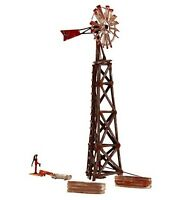 Woodland Scenics N BR4936 Old Windmill, Built and Ready, N Scale, 4 PCS. New