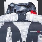 Batman Bedding Quilt Cover Set Single Black Logo Superhero