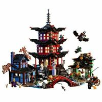 Diy Ninja Temple Of Airjitzu Ninjagoes Kids Small Version Building Blocks Compat