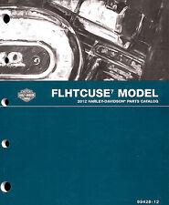 2012 Harley-Davidson Cvo Flhtcuse7 Ultra Classic Parts Catalog Manual