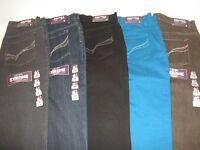 $46 Ladies Gloria Vanderbilt Amanda Dazzle Tapered Pants 5 pocket Jeans