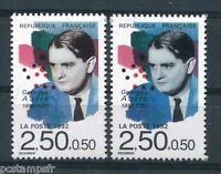 FRANCE  1992, variété de couleur timbre 2751, GEORGES AURIC, neufs**