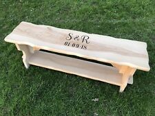 Wedding Bench Guestbook