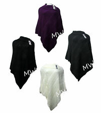 Acrylic Cowl Neck Jumpers & Cardigans Plus Size for Women