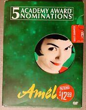 Amelie (Dvd, 2002, 2-Disc Set, Special Edition) A BlockBuster Original ! Rare