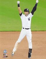 DEREK JETER NEW YORK YANKEES UNSIGNED 8x10 PHOTO (D)