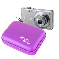 Purple Digital Camera Case For Panasonic LUMIX DMC-TZ20, TZ18, TZ8 & FS16