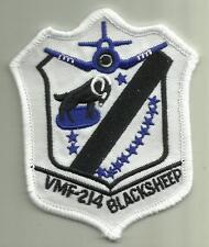 VMF-214 BLACK SHEEP USMC MILITARY PATCH MARINES AIRCRAFT ATTACK SQDN PILOT USA