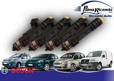 INIETTORI BOSCH kit 4p 0280158827 FIAT MULTIPLA DOBLO MAREA 1.6 NATURALPOWER 16V