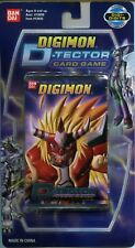 X3 New & Sealed Digimon D-Tector Set Card Game Series 10 Card Pack X3