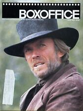 "Boxoffice Magazine June 1985 Vol 121 No 6 Eastwood's ""Pale Rider"""