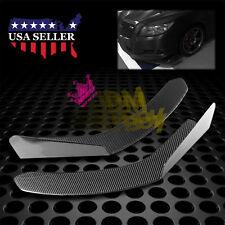 Universal Carbon Fiber Winglet Type-3 Aero Front Bumper Lip Splitter Diffuser