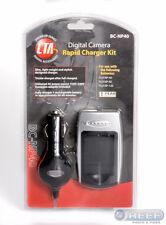 CTA Rapid Charger Kit for FUJI NP-40/60/120
